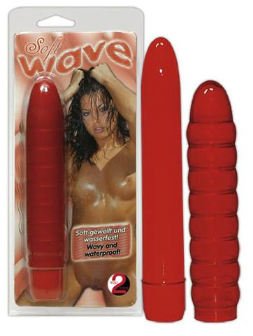 Soft Wave Vibrator Red